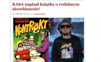 KASA napisał książkę o polskim szołbiznesie