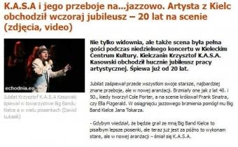 KASA i jego przeboje na jazzowo