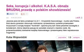 KASA obnaża prawdę o polskim szołbiznesie